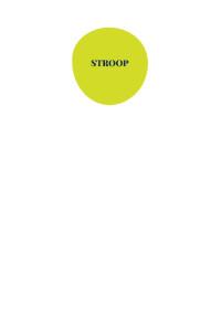 Test d'attention sélective de Stroop