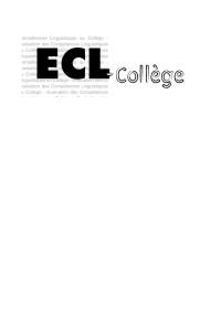Evaluation des compétences Linguistiques écrites