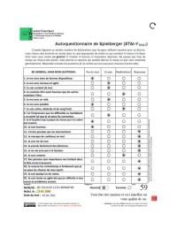 Inventaire d'anxiété état-trait (Forme Y)