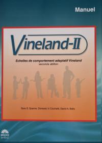 Echelle d'évaluation du comportement socio adaptatif de Vineland