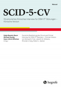 Strukturiertes Klinisches Interview für DSM-5®-Störungen – Klinische Version