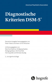 Diagnostische Kriterien DSM-5