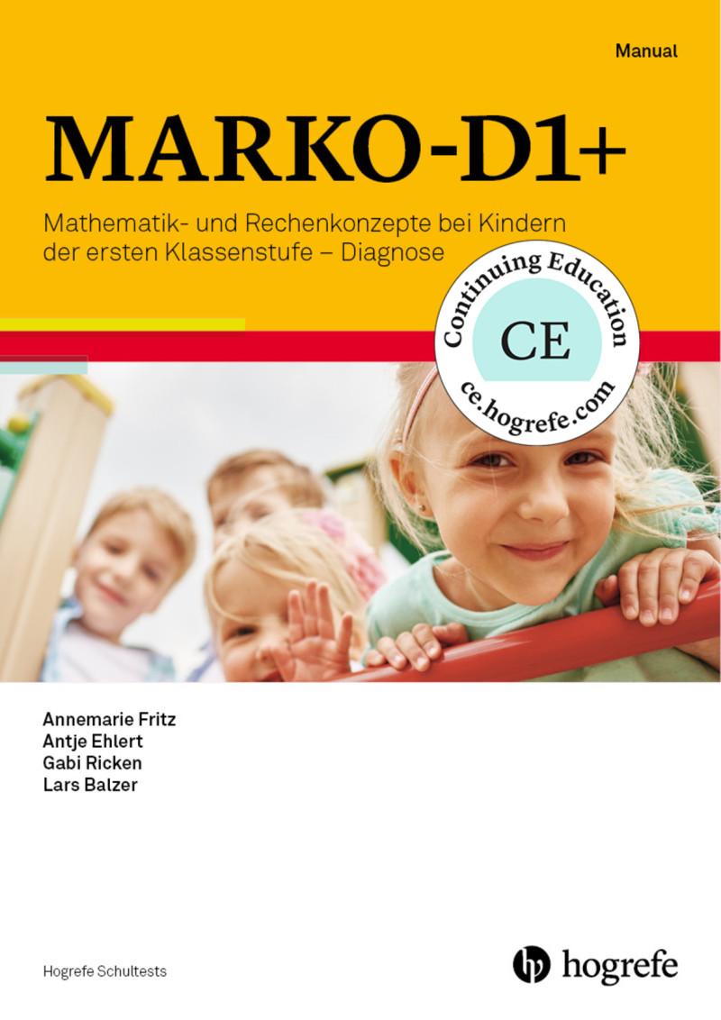 Test komplett bestehend aus: Manual, Aufgabenbuch, 10 Arbeitshefte, Bildkarten, 10 Protokollbogen, 10 Ergebnisbogen, 15 rote Plättchen, 15 blaue Plättchen, Lineal und Mappe