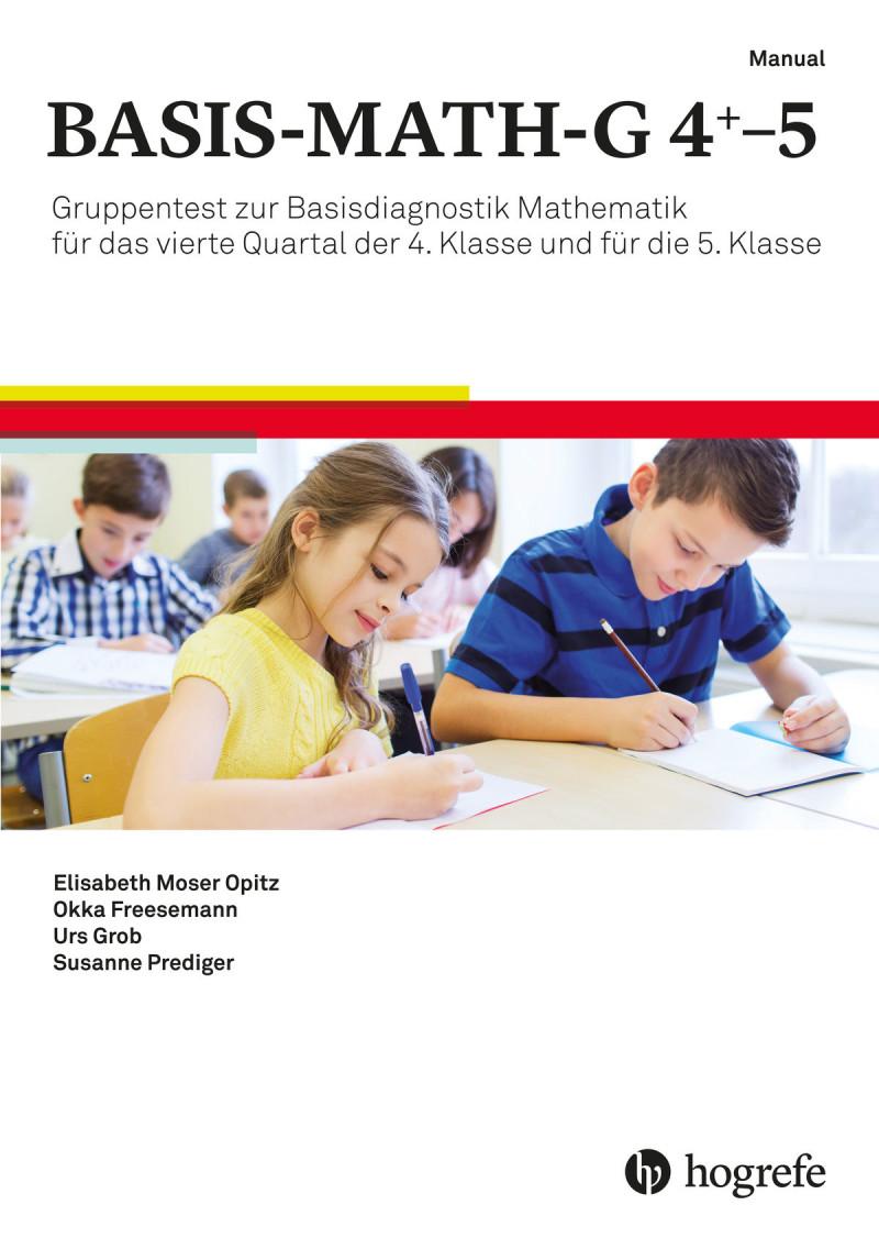 Test komplett für Deutschland und Österreich bestehend aus Auswerteprogramm, Manual, 5 Testhefte G4 Testform A, 5 Testhefte G4 Testform B, 5 Testhefte G5 Testform A, 5 Testhefte G5 Testform B, 5 Auswertungsbogen G4+ (viertes Quartal 4. Klasse) Testform A,