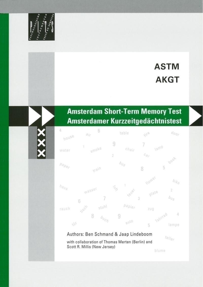 Test komplett bestehend aus: Manual, CD mit Computerprogramm, 100 Protokollbögen
