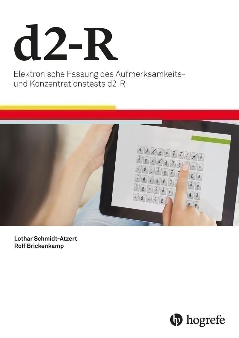 d2-R (HTS) d2-R – Elektronische Fassung des Aufmerksamkeits- und Konzentrationstests d2-R, Testkit inkl. 50 Nutzungen und Manual