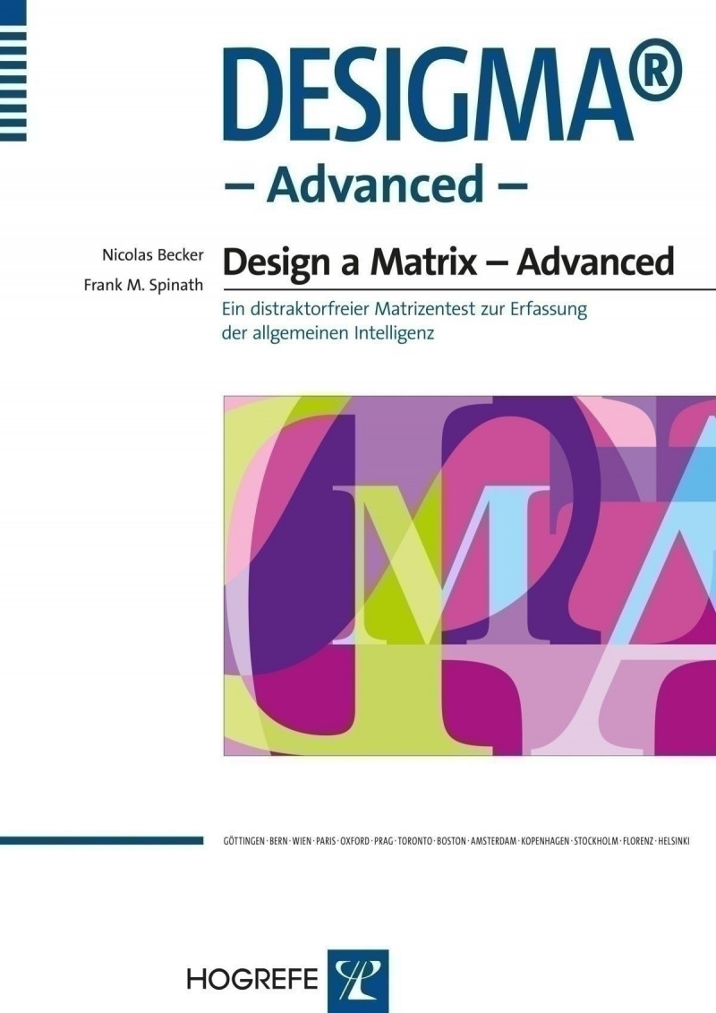 DESIGMA®-Advanced, Manual