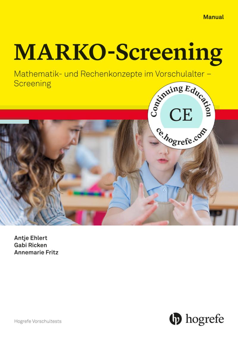 MARKO-Screening (HTS 5)*, Testkit inkl. 50 Nutzungen und Manual